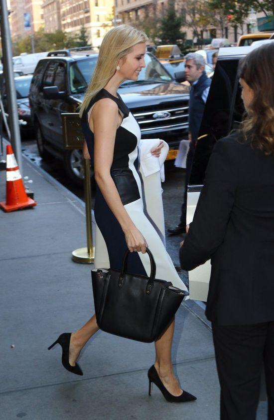 Jak Ivanka Trump ubrała się dziś do pracy? (FOTO)