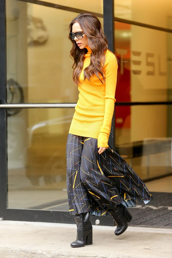 Victoria Beckham znowu schudła? (FOTO)