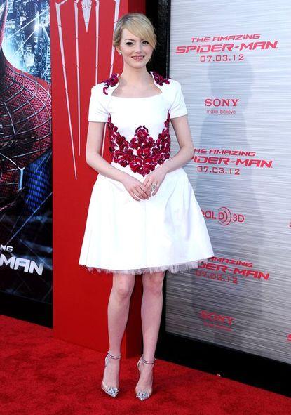 Cameron Diaz w sukience Chanel Resort 2013 (FOTO)