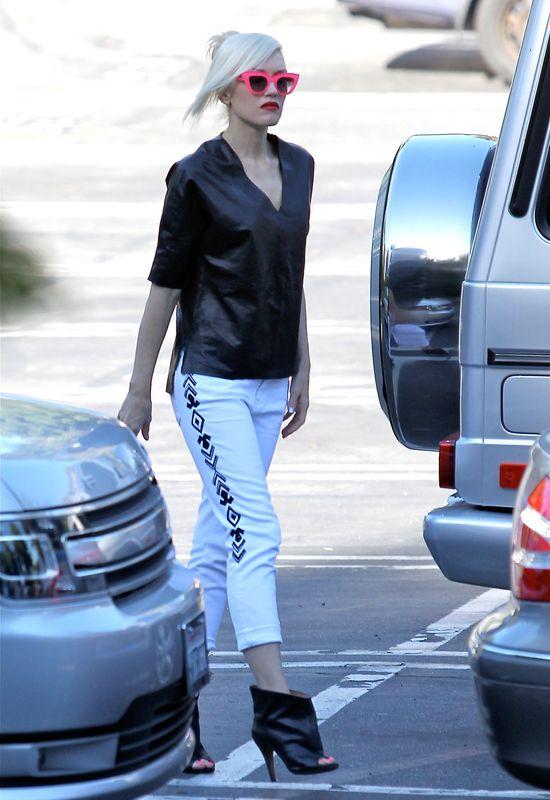 Gwen Stefani ma całą kolekcję wzorzystych spodni (FOTO)