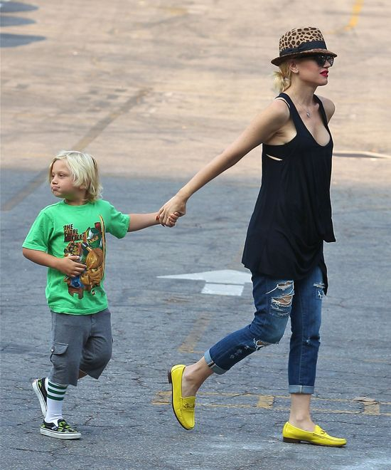 Gwen Stefani w jeansach James Crop