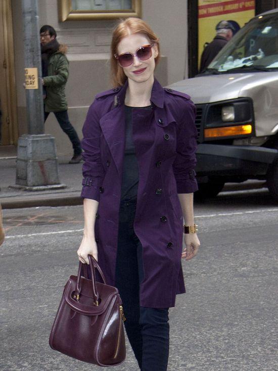 Jessica Chastain i jej zestaw idealny (FOTO)
