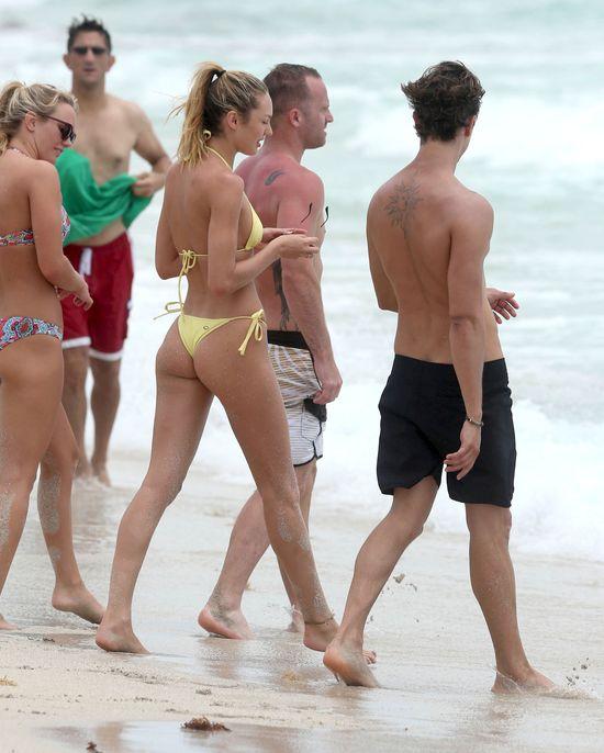Candice Swanepoel zdecydowanie nie potrzebuje retuszu