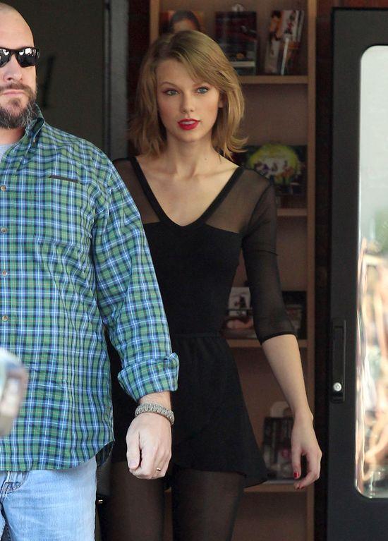 Taylor Swift obcięła włosy (FOTO)
