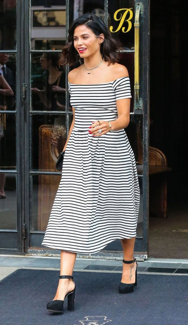 Jenna Dewan pokochała marynarskie paski (FOTO)