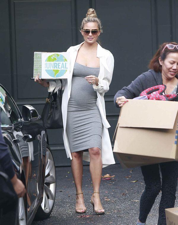 Kim Kardashian pokazała się po urodzeniu dziecka? (FOTO)