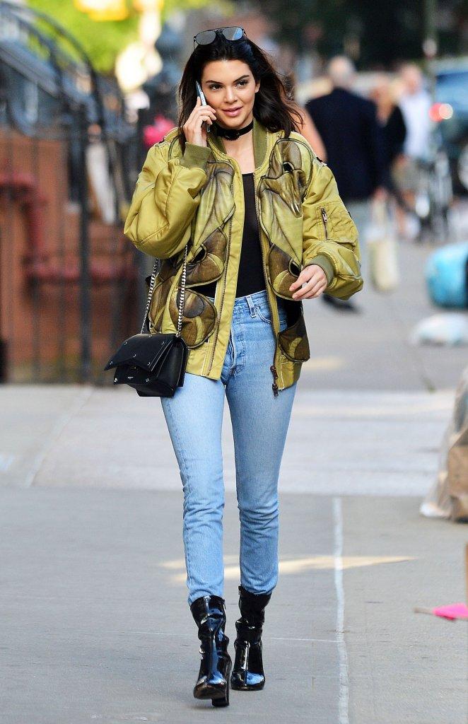 Kendall Jenner zaświeciła sutkiem (FOTO)