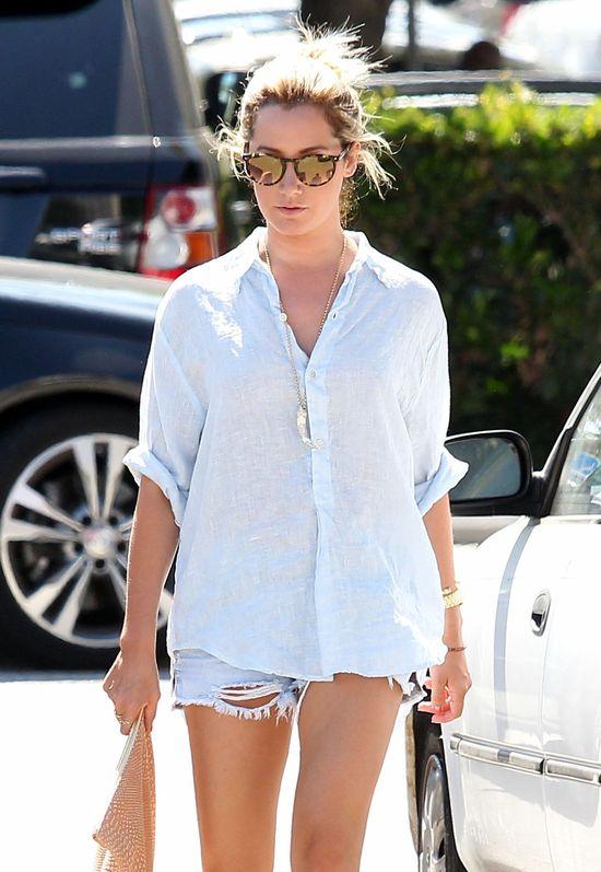 Miejski styl w wydaniu Ashley Tisdale (FOTO)