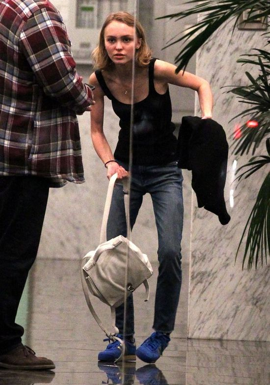 Lily Rose Depp ma anoreksję? (FOTO)