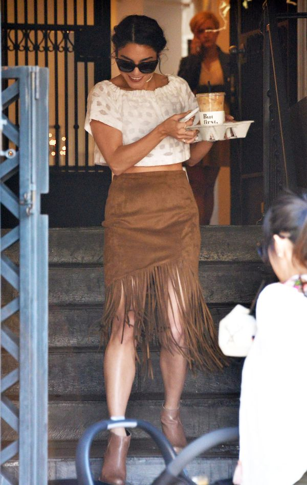 Vanessa Hudgens pokazuje, że jest gotowa na Coachellę