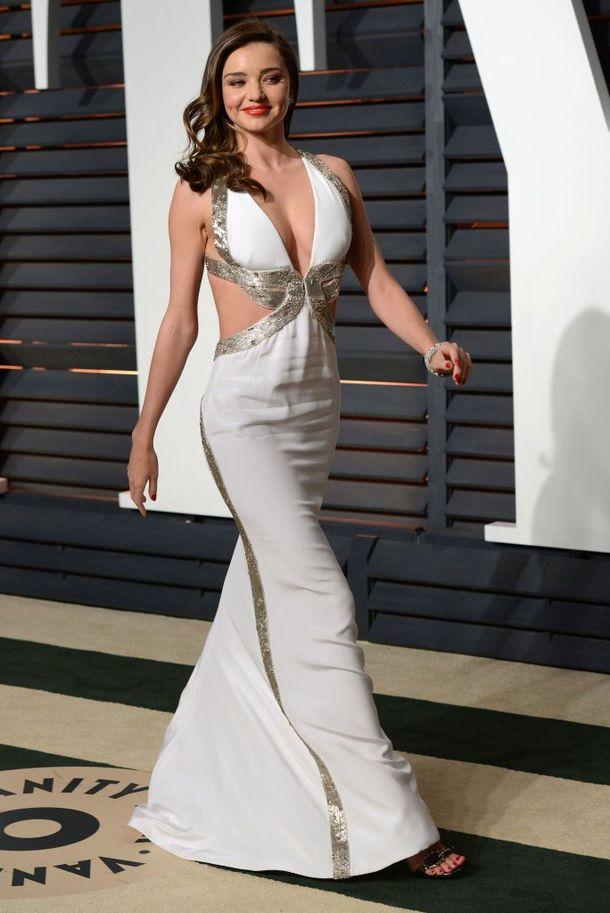 Modelki na oscarowym party Vanity Fair (FOTO)