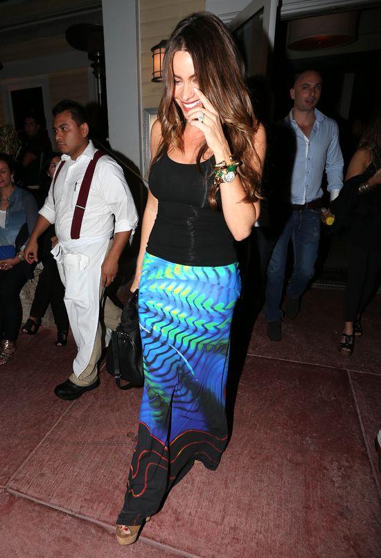 Sofia Vergara w spódnicy maxi (FOTO)