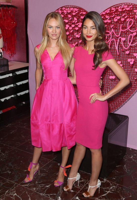 Aniołki Victoria's Secret uczą nas walentynkowego stylu