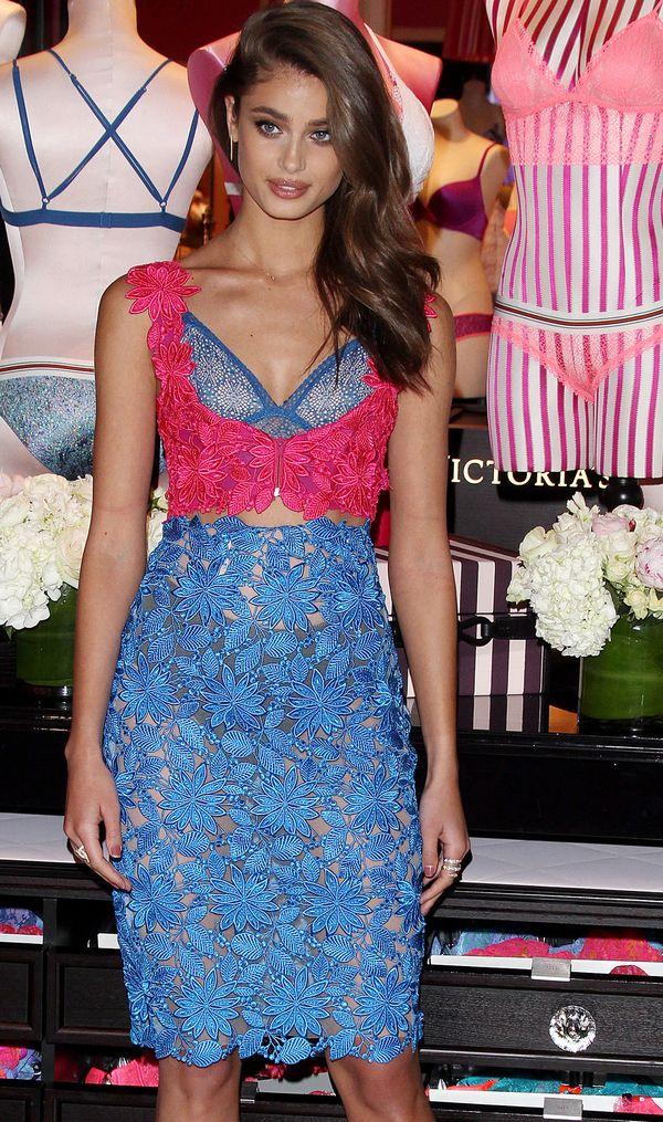 Aniołek Victoria's Secret, Taylor Hill, promuje nową kolekcję