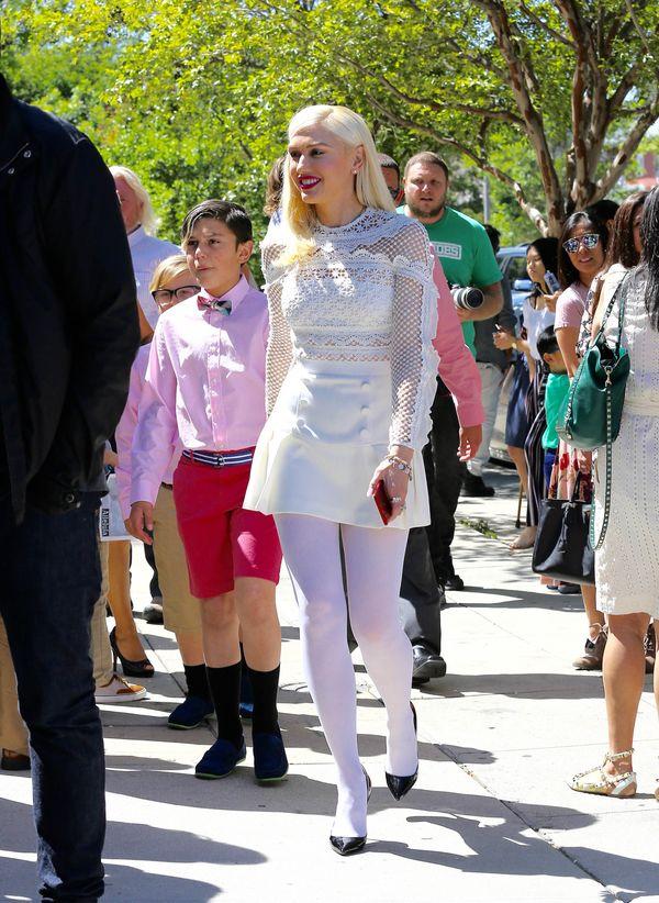 Gwen Stefani znowu udowadnia, że nie potrafi się ubrać do kościoła? (FOTO)