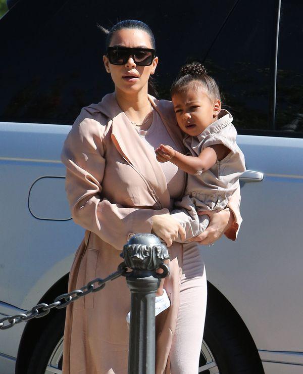 Jak perfekcyjna Kim Kardashian mogła na to pozwolić Nori?!