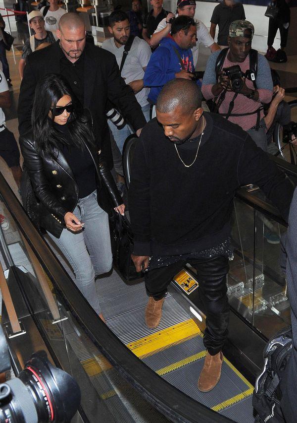 Kim Kardashian i jej ulubiona marynarka Balmain (FOTO)