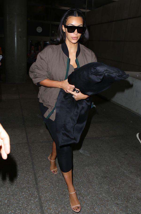 Kim Kardashian i jej kolejna modowa wpadka! (FOTO)