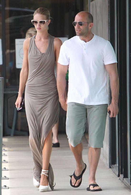 Rosie Huntington-Whiteley w sukience Helmut Lang (FOTO)