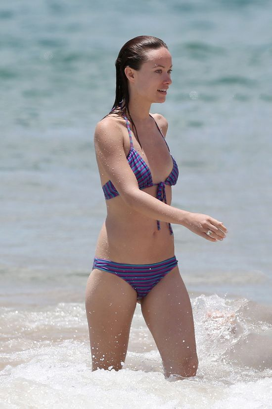 Olivia Wilde bez makijażu i w bikini (FOTO)