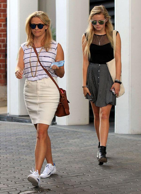 Reese Witherspoon z córką - wyglądają jak siostry! (FOTO)