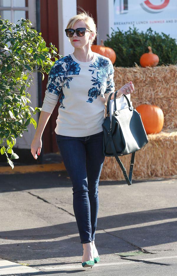 Reese Witherspoon - stylizacja idealna na co dzień (FOTO)