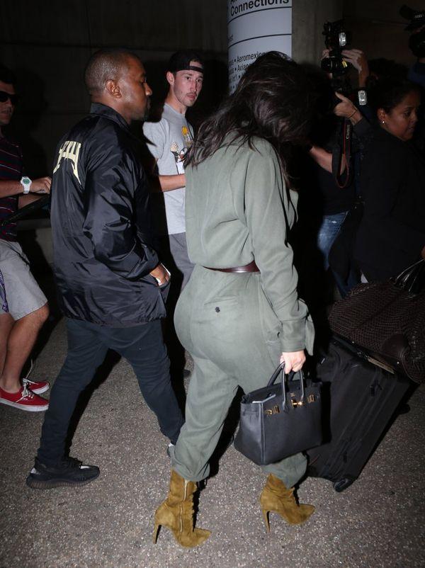 Kim Kardashian zainspirowała się strojem pilota? (FOTO)