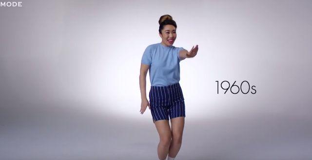 Tak w ciągu 100 lat zmieniały się stroje sportowe (VIDEO)