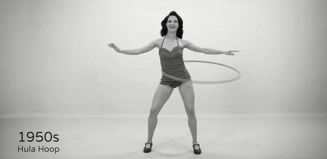 Tak w ciągu 100 lata zmieniał się fitness (VIDEO)