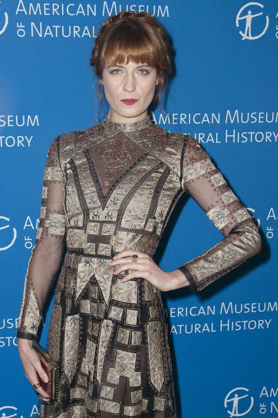 Florence Welch w sukni Valentono (FOTO)