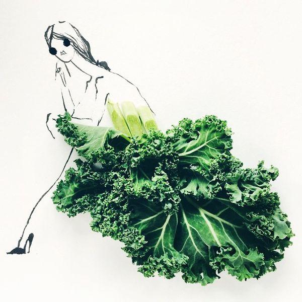 Gretchen Roehrs - co można wyczarować z owoców i warzyw?