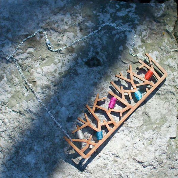 Wiosenny trend: drewniana bizuteria