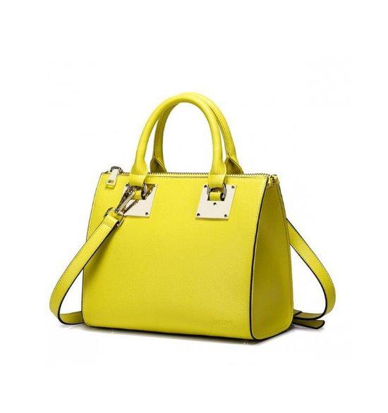 Ubrania i dodatki w modnych odcieniach żółtego (FOTO)