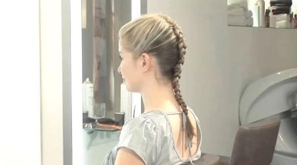 Fryzura Weroniki Rosati  z konferencji filmu Obława (VIDEO)