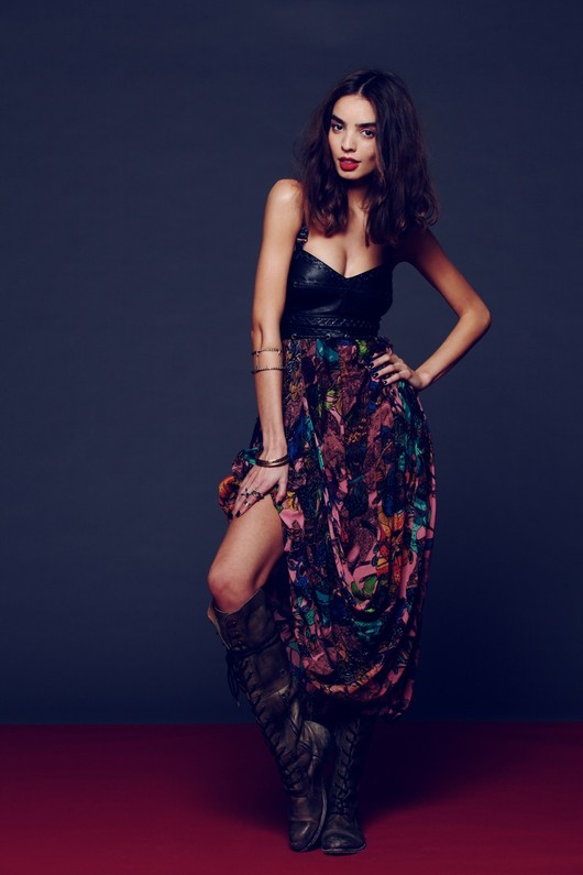 Sylwestrowy lookbook marki Free People