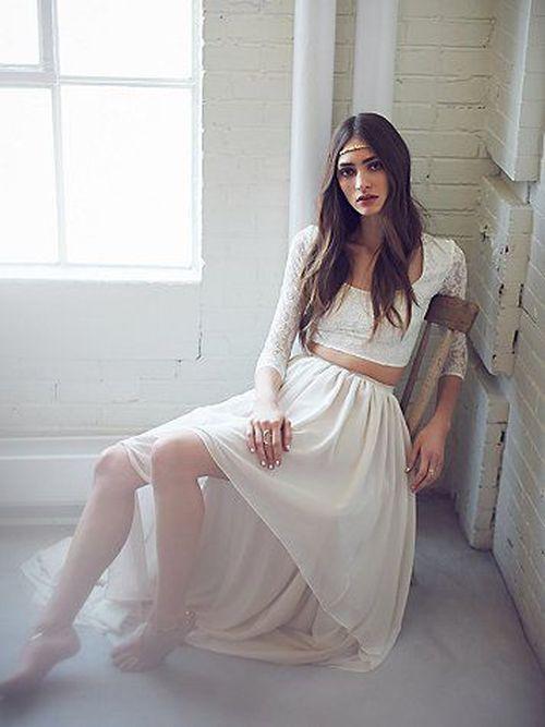 Zachwycajace suknie ślubne od Free People w stylu boho