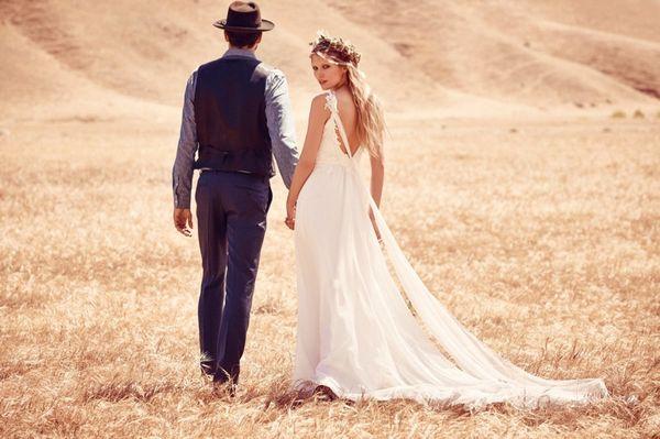 Suknie ślubne w stylu boho od Free People (FOTO)
