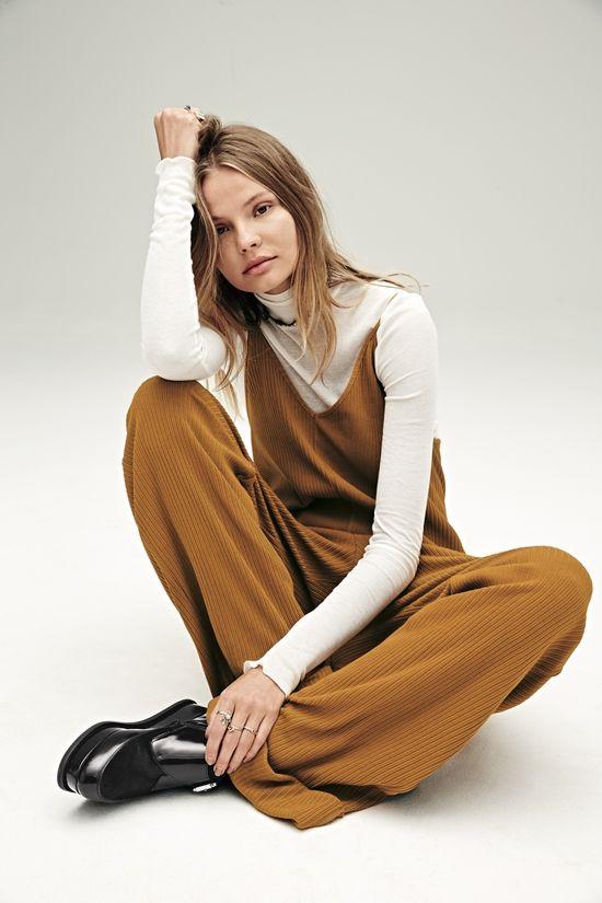 Magdalena Frąckowiak w najnowszym lookbooku Free People (FOTO)