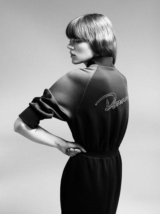 Freja Beha Erichsen w kampanii MO&Co