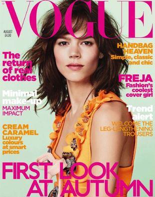 Freja Beha Erichsen dwukrotnie w Vogue