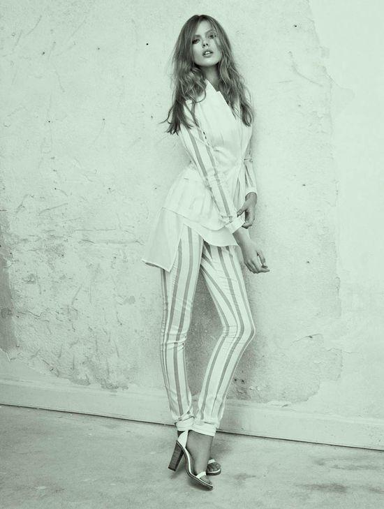 Frida Gustavsson w wiosennej kampanii Tiger of Sweden (FOTO)