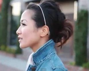 Prosty sposób na elegancką fryzurę