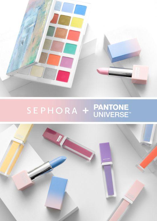 Sephora i Pantone prezentują kosmetyki w kolorach roku 2016