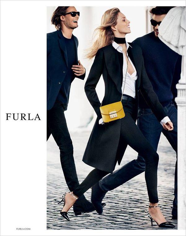 Anja Rubik gwiazdą jesienno-zimowej kolekcji marki Furla