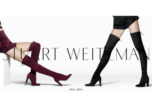 Stuart Weitzman - przewodnik stylu na jesień/zimę 2015