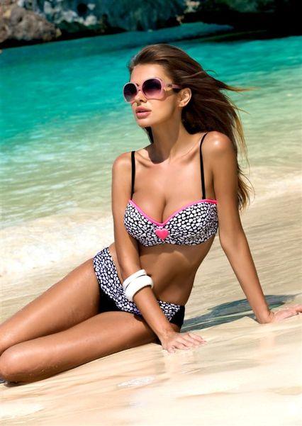 Natalia Siwiec w kampanii kostiumów kąpielowych Gabbiano
