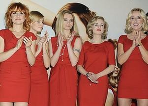 Celebrytki w czerwieni (FOTO)