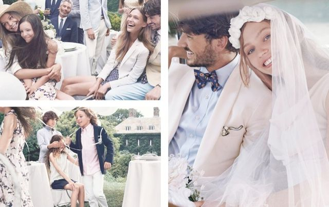 Sasha Pivovarova w ślubnej kampanii Gant (FOTO)