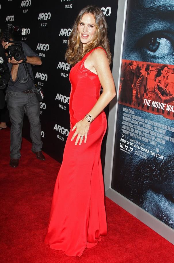 Jennifer Garner w czerwonej sukni