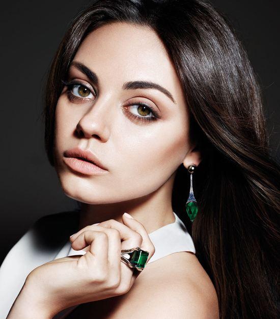Mila Kunis nowa twarzą firmy biżuteryjnej Gemfields